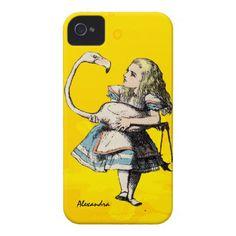 Alice In Wonderland, Casemate iPhone 4 Case. Veja também: http://semioticas1.blogspot.com.br/2011/07/alice-vai-ao-futuro.html