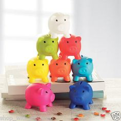 #Piggy bank - #money box for #saving coins & cash fun gift plastic novelty pig sa,  View more on the LINK: 	http://www.zeppy.io/product/gb/2/131312737149/