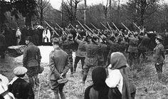 Funeraria del Barón Rojo se llevó a cabo por soldados y oficiales británicos (de dominio público):