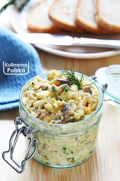 Polish Recipes, Polish Food, Seafood Dishes, Pesto, Risotto, Food And Drink, Salad, Vegetables, Ethnic Recipes