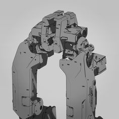 Closer look at the work-in-progress pelvis and hip joint for the robot I'm working for #thatmisteriousunannouncedproject