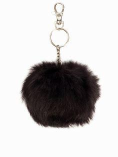 Fake Fur Keyring