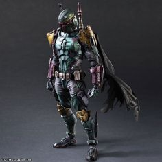 Newest prototypes of Play Arts Kai Variants Star Wars figures