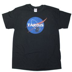 Doctor Who Tardis NASA T-Shirt by SuperVillainDesigns on Etsy