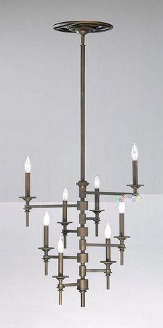 Cyan Design Eight Light Omega Chandelier - 04186