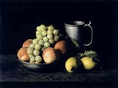 Pewter Pitcher Grapes, photo Evelyn Hofer, 1922 - 2009