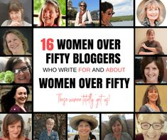 Celebrating the Women Over Fifty Who Write For and About Women over Fifty! Women Friendship, Women Empowerment, Older Women, How To Start A Blog, Life Goals, About Me Blog, Blogging, Middle, Senior Girls