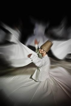 "Whirling. Some Sufis ""hoop"" or get extreme peircings to reach an enlightened state. These dudes twirl."
