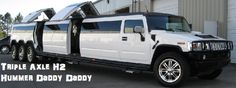 Triple Axle Hummer H2 Limo Do you like this limo? Have a look at alot more amazing limousines at www.classiquelimo.com