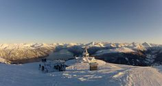 Stranda Ski resort - the Sunnmøre alps. The most beautiful region in Norway!