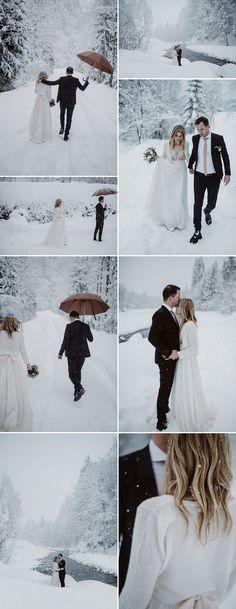 Snowy Wedding | Snow Portraits | 10 Tips for a Stylish Winter Wedding | Festive Wedding | Christmas Wedding | December Wedding