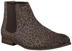 Bruine Fred de la Bretoniere Chelsea boots 228013