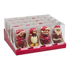 Figurine en chocolat de Noël