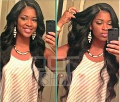 Soft-indian-glueless-Lace-Front-wigs-Human-Remy-Hair-wavy