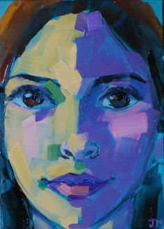 Jessica Miller Paintings: Half-Hour Portrait I am always impressed by her work - check her out! Abstract Portrait, Portrait Art, Art Journal Inspiration, Painting Inspiration, Expressionist Portraits, 21st Century Artists, Painting People, Illustrations, Fine Art Gallery