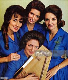 Mother Maybelle, June, Helen, and Anita Carter.-