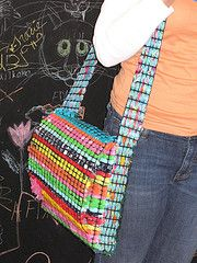 Something creative to make with the gazillion plastic shoppping bags.