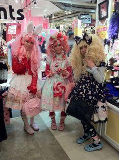LOLITAS Urban Tribes, Japan Street, Harajuku, Tokyo, Japanese, Places, Girls, Fashion, Toddler Girls