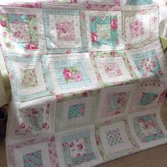 Quilt-As-You-Go non-stop! More Projects and Classes - Quilting In The Rain