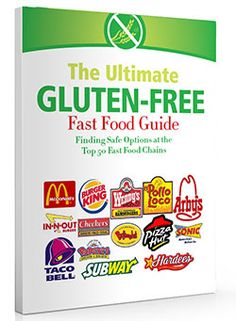 Free e-book: Gluten-free fast food guide. How GF friendly are the 50 top fast food chains?