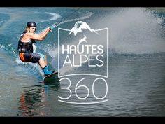 360 : Wakeboard sur le lac de Serre-Ponçon
