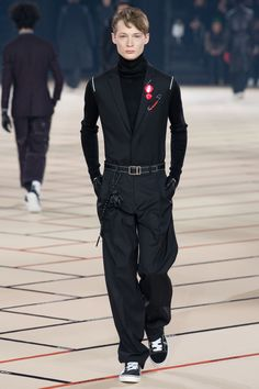 Dior Homme Fall 2017 Menswear collection.