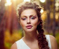 Bridesmaid hair, side braid