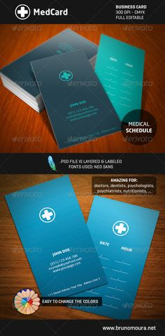 Medical  Pharma  Doctor Business Card  Medical Business And Cards