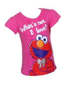 Elmo What's Not 2 Love? Toddler Girls T-Shirt « Clothing Impulse
