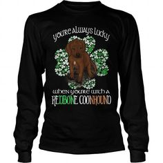 REDBONE COONHOUND SAINT PATRICKS DAY LUCKY WITH A REDBONE COONHOUND DOG LONG SLEEVE TEES T-SHIRTS, HOODIES ( ==►►Click To Shopping Now) #redbone #coonhound #saint #patricks #day #lucky #with #a #redbone #coonhound #dog #long #sleeve #tees #Dogfashion #Dogs #Dog #SunfrogTshirts #Sunfrogshirts #shirts #tshirt #hoodie #sweatshirt #fashion #style