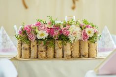 Krispie Treats, Rice Krispies, Birch Tree Wedding, Wedding Flowers, Wedding Decorations, Wedding Inspiration, Cake, Desserts, Food