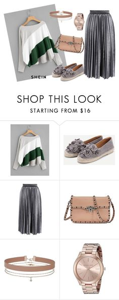 """Untitled #44"" by nihanbr ❤ liked on Polyvore featuring Chicwish, Valentino, Miss Selfridge and Michael Kors"