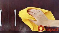 Geniálny spôsob, ako odmastiť komplet celú kuchyňu za pár drobných: A povrch to zaručene nezničí, ako agresívna chémia z obchodu! Organization, Organizing, Cleaning, Tips, Getting Organized, Organisation, Tejidos, Home Cleaning, Counseling