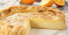 Φτιάξτε γαλατόπιτα της γιαγιάς με πορτοκάλι και κανέλα!