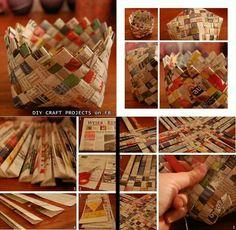 Newspaper baskets