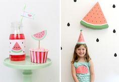 ... + Nina Designs + Parties: FIESTA: SANDÍA PARTY!