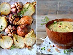Zupa cebulowo-czosnkowa - Delicious Place - fotografia kulinarna i autorskie przepisy