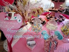 Baptism Candy Bar. Baptism Decorations, Table Decorations, Candy, Bar, Home Decor, Sweet, Room Decor, Sweets, Candles