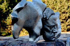 Travelling with camera obscura: Sibelius monument in Sibelius park in Helsinki Camera Obscura, Helsinki, Finland, Garden Sculpture, Travelling, Elephant, Park, City, Outdoor Decor