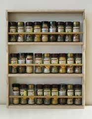 Simple Spice Rack with building plans