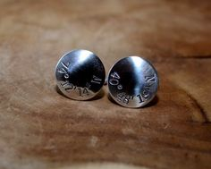Handcrafted and personalized with any latitude longitude coordinates of your choosing, these sterling silver cuff links are sure to be the highlight of any shirt with substantial 18 gauge (1mm thick)