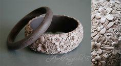 "Bracelets handmade.  Fair Masters - handmade bracelet set ""Flora.""  Handmade."