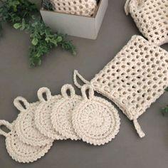 Crochet Scrubbies, Knit Crochet, Crochet Potholder Patterns, Crochet Accessories, Crochet Designs, Crochet Projects, Hand Embroidery, Textiles, Knitting
