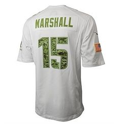 Marshall Salute Jersey - Awesome gift for my veteran hubby who LOVES the Bears!