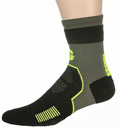 DrAnison Unisex Cushion Crew Running Socks >>> You can get additional details at the image link.Note:It is affiliate link to Amazon.