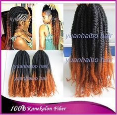 Cheap hair straightener hair curler, Buy Quality hair wigs black women directly from China hair extension glue remover Suppliers: 	stock! 20in folded afro kinky twist cheap synthetic ombre marley braid free shipping	  	1.100% Kanakelon synt