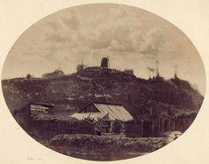La Butte de Montmartre à Paris en 1848-1850