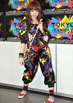 Kyary Pamyu Pamyu (J-Pop Star) ultimate clothes 2010s Fashion, Pop Fashion, Fashion Models, Kyary Pamyu Pamyu, Gyaru Fashion, Harajuku Fashion, Harajuku Style, Weird Fashion, Colorful Fashion