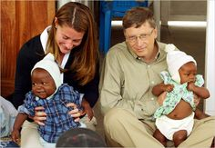 Rich people giving money away, I love Bill and Melinda Gates, they have pledged to give most of their money away.