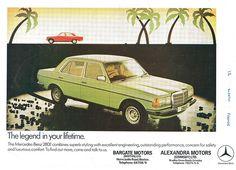 Mercedes-Benz 280e ad 1978